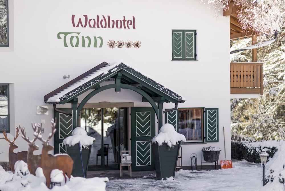 Nell'Hotel Tann di Collalbo