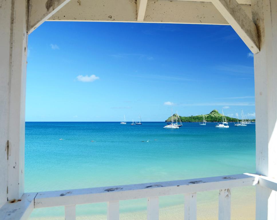 Baia di Rodney, Saint Lucia, Caraibi