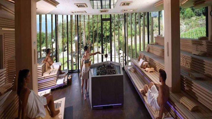 Foto Benessere: 10 saune speciali in Italia