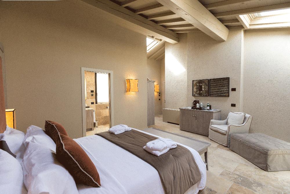 Una delle sei suite della Locanda Ca' del Moro