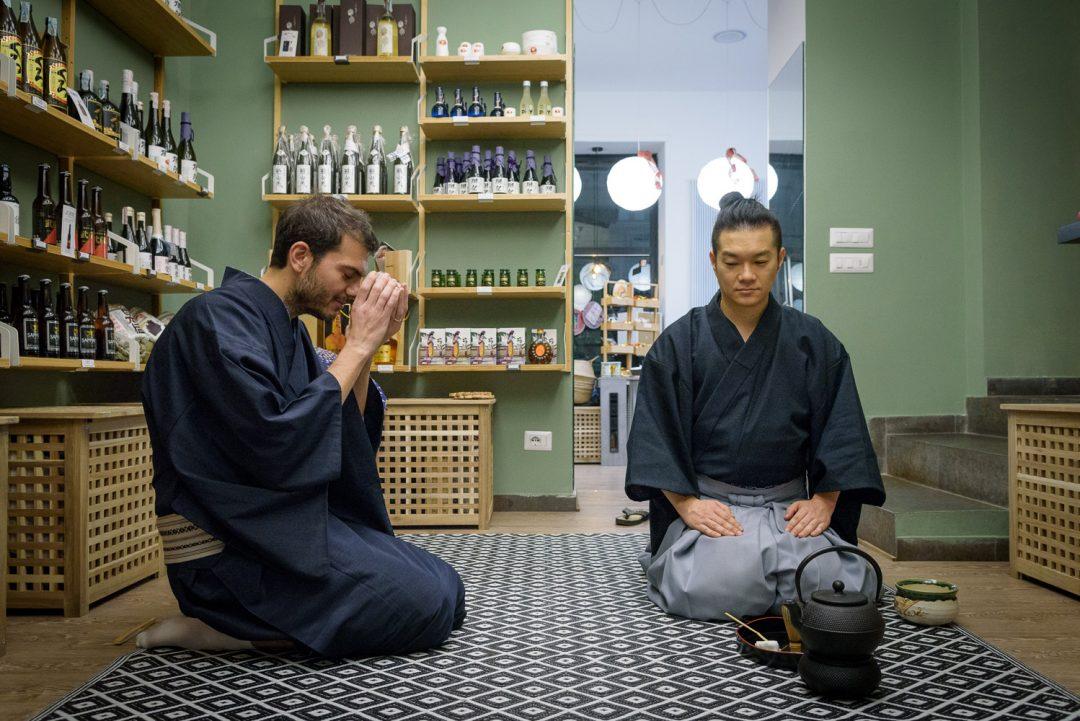 cerimonia del tè a Milano