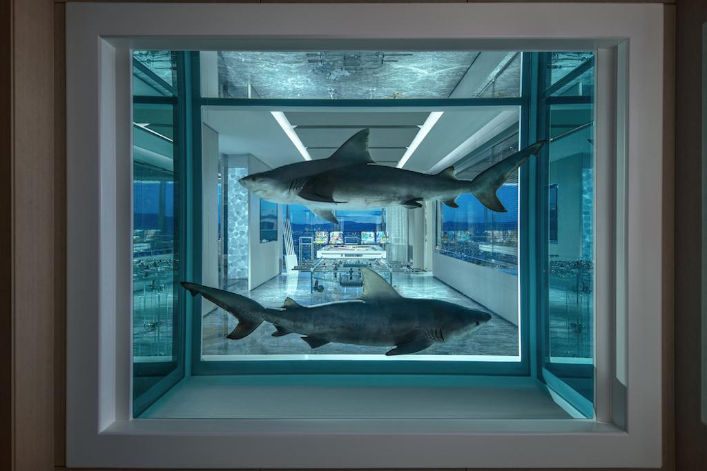 La suite di hotel disegnata da Damien Hirst