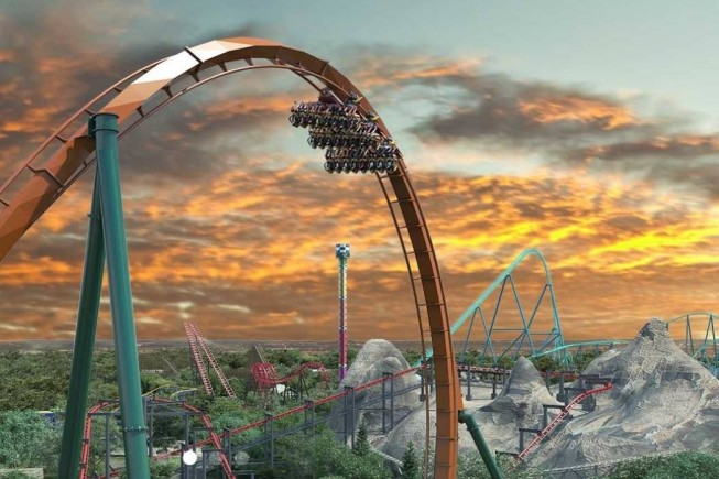 «Yukon Striker», il dive coaster dei record