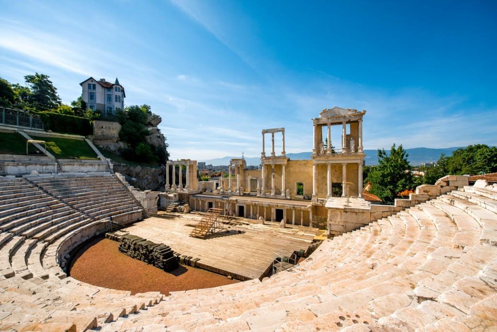 Il teatro romano di Plovdiv