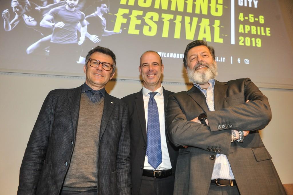 Da sinistra Paolo Bellino, Francesco Conci, Andrea  Trabuio - credit La Presse