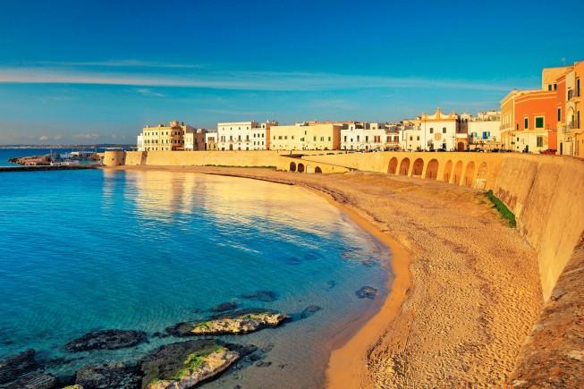 La spiaggia della Purità, a Gallipoli, in Puglia (foto di Riccardo Spila/SIME)