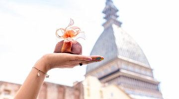 Chocolate in Turin city