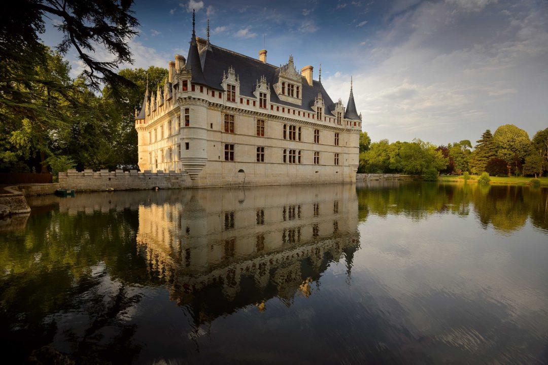 Castello di  Azay- le-Rideau