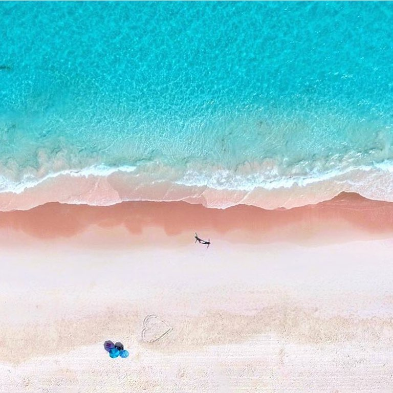 Le spiagge rosa