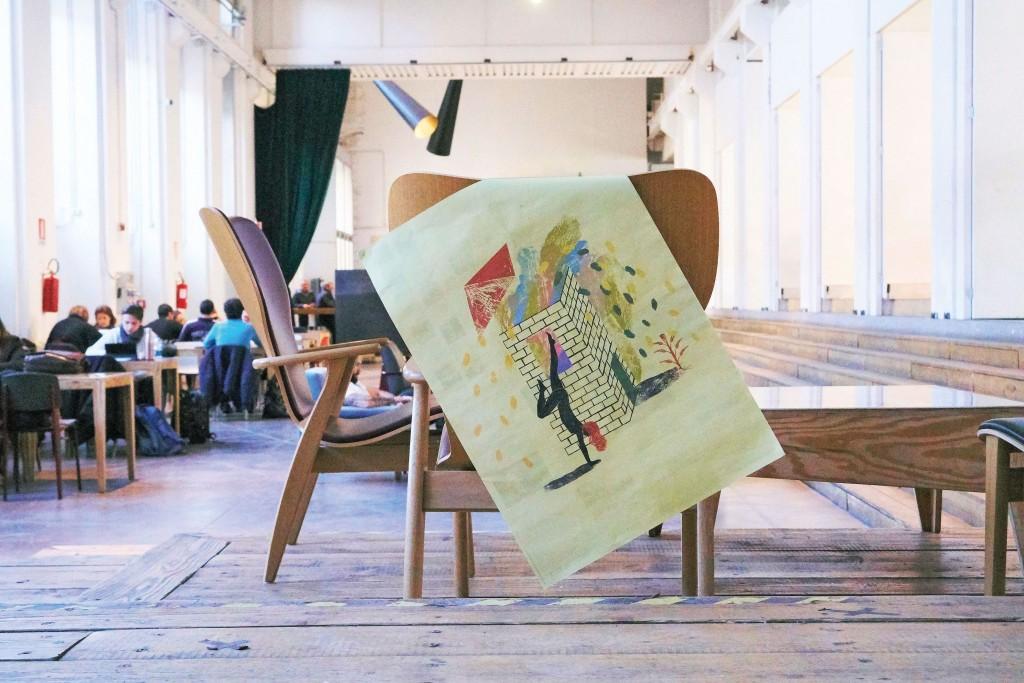 Fuorisalone 2019: Un disegno di Elena Salmistraro
