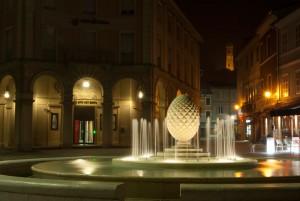 La Fontana della Pigna in Piazza