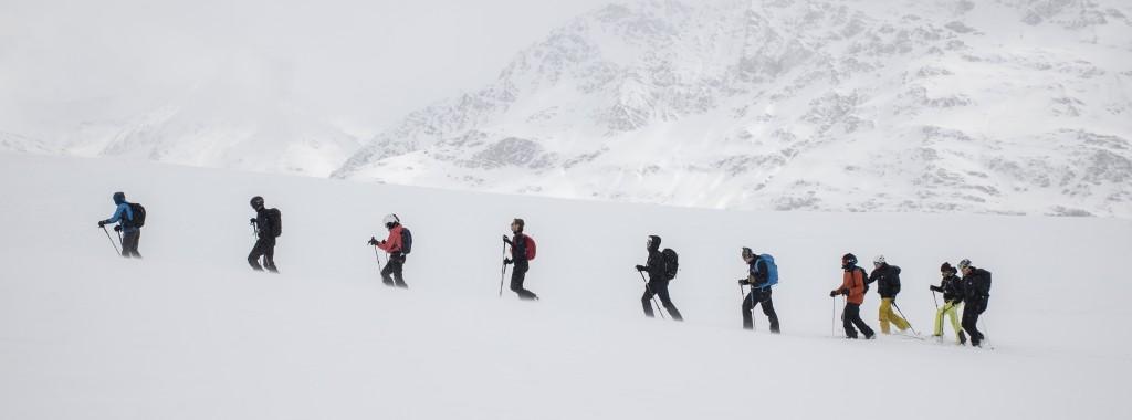 Scialpinisti in Valfurva