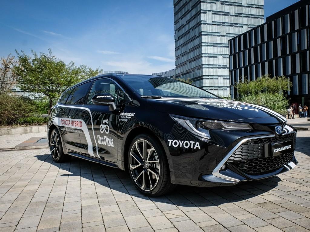 La nuova Corolla Touring Sport Hybrid