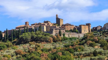 Panicale in Umbria, Italy