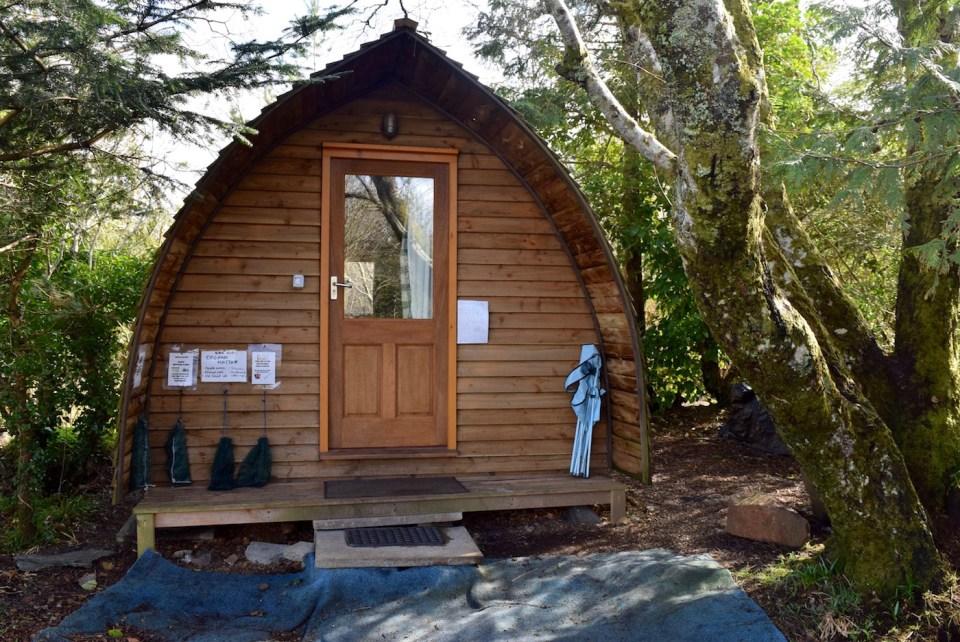 Soggiornare gratis in Scozia nello Skye Forest Garden