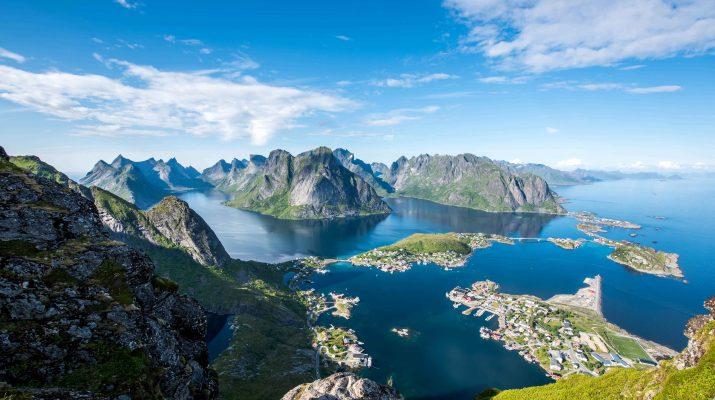 Foto In Norvegia per gustare salmoni e merluzzi