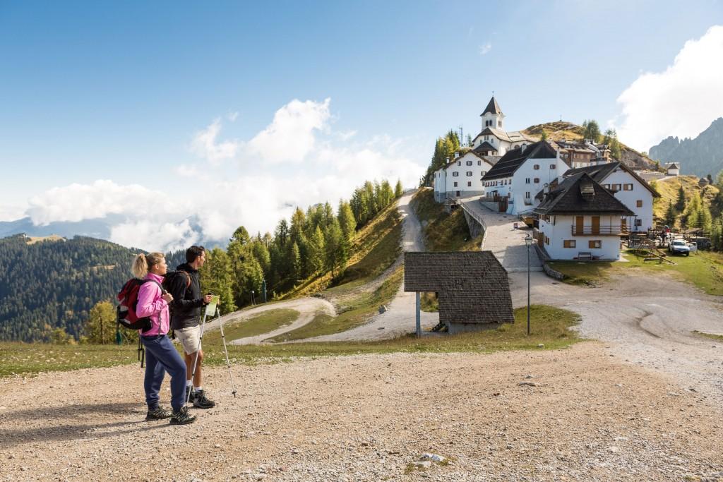 Alpe Adria Trail: santuario del Monte Lussari