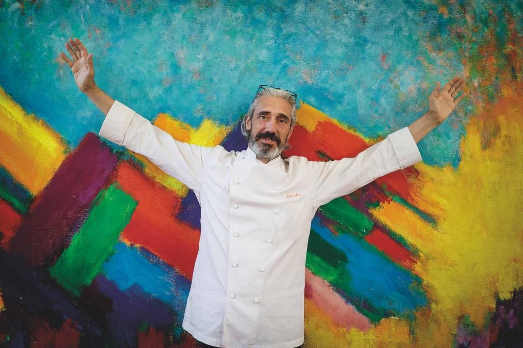 Leandro Luppi, de La Vecchia Malcesine, ideatore e anima di Fish&Chef.