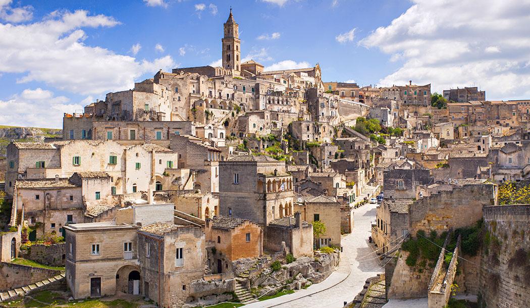 Matera: il fascino di una città scavata nella roccia