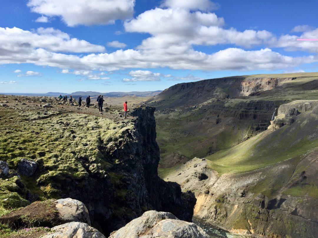 Islanda, la valle nei pressi delle cascate di Háifoss (foto G. Moro)