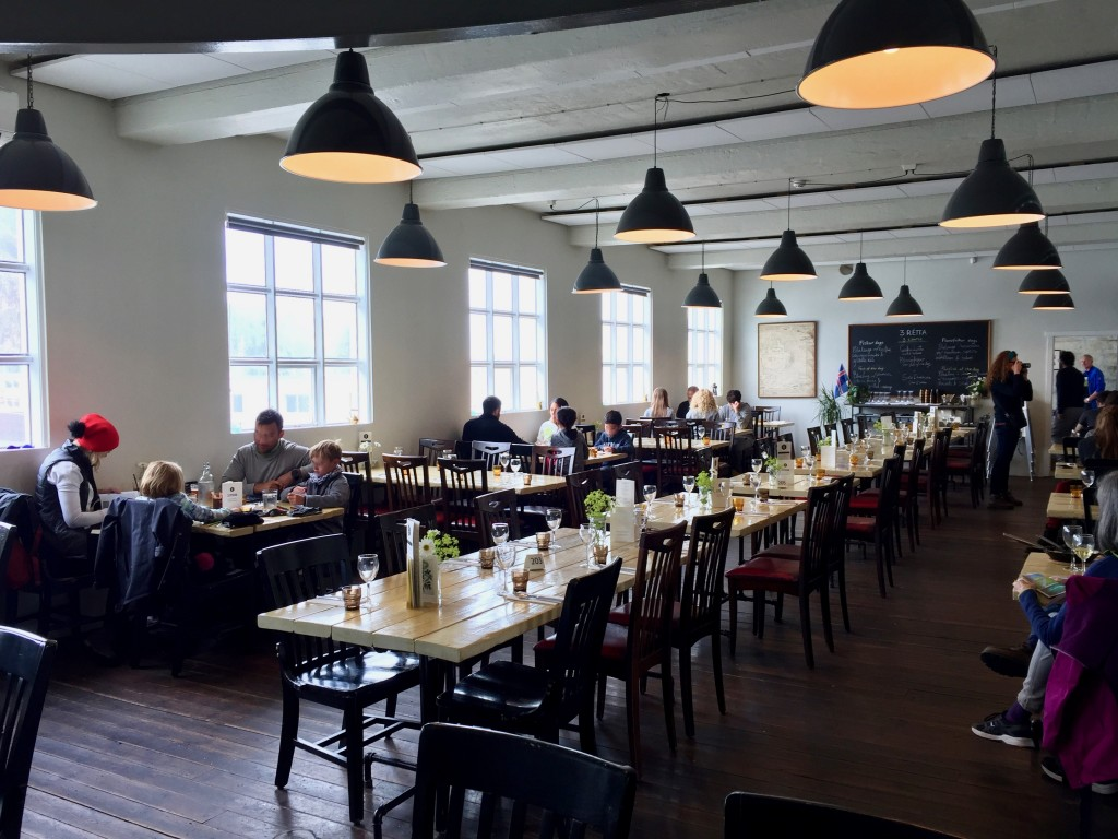 Il ristorante Slippurin, a Vestmannaeyjar
