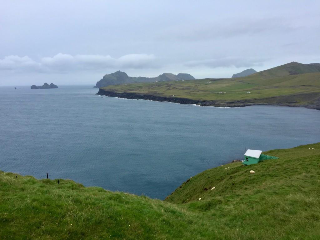 La penisola di Stórhöfði, uno dei luoghi più ventosi d'Europa, sull'isola di Heimaey: è la propaggine meridionale dell'isola nonché il punto di osservazione migliore per guardare da vicino i pulcinella di mare