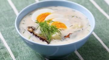 """""""Kulajda"""" Cream soup"""