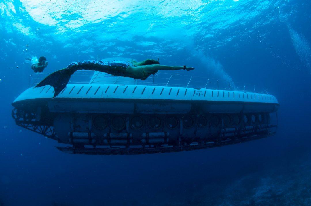 Nel sottomarino blu - Messico