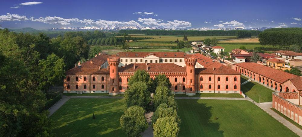 La sede dell'università di scienze gastronomiche, a Pollenzo (bra, Cuneo).