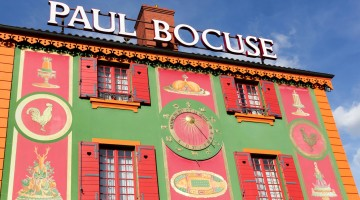Paul Bocuse restaurant in Lyon, France