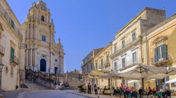 Ragusa Ibla, Piazza Duomo (Sicily, Italy)