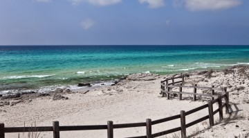 Beach in Puglia, Italy