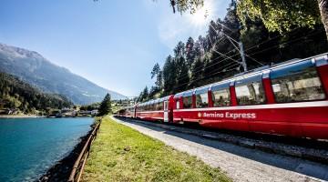 Rhaetische Bahn: Bernina Express – Berninalinie