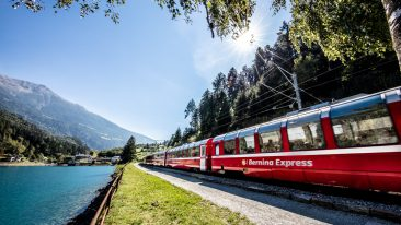 Bernina Express Lago di Poschiavo