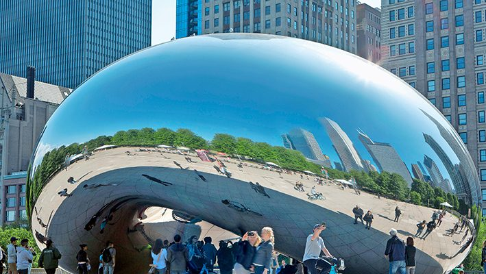 Foto Chicago, the wind city