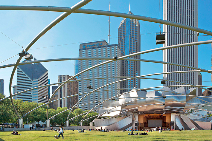 Chicago, the wind city