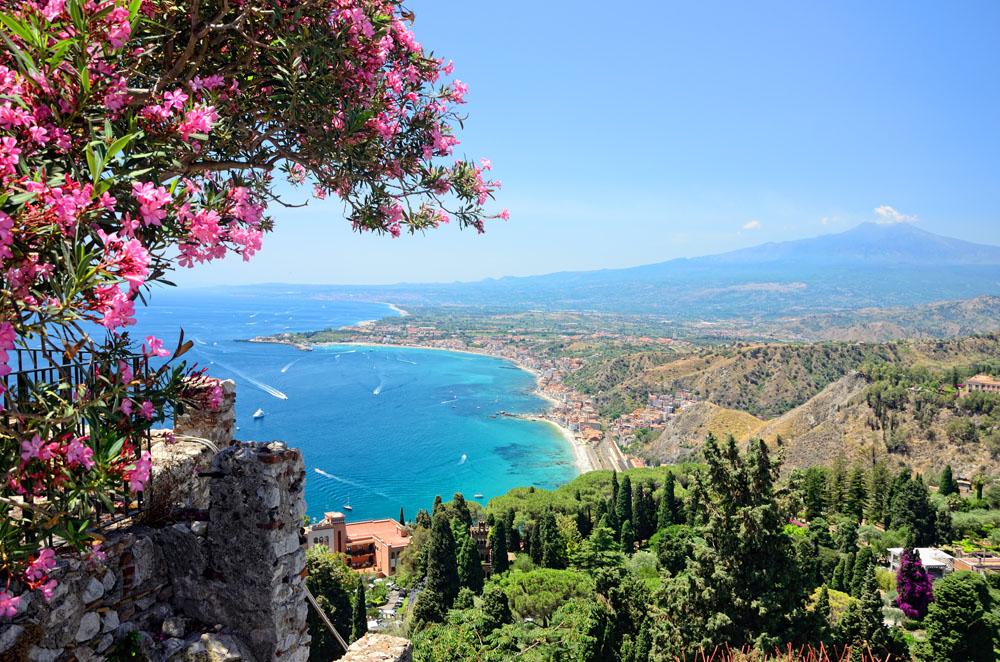Un weekend tra Catania e Taormina, con un salto sull'Etna