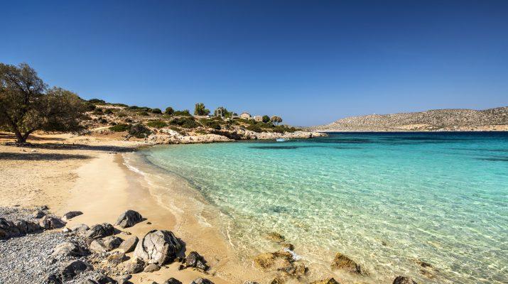 Foto Mare selvaggio sull'isola di Chios