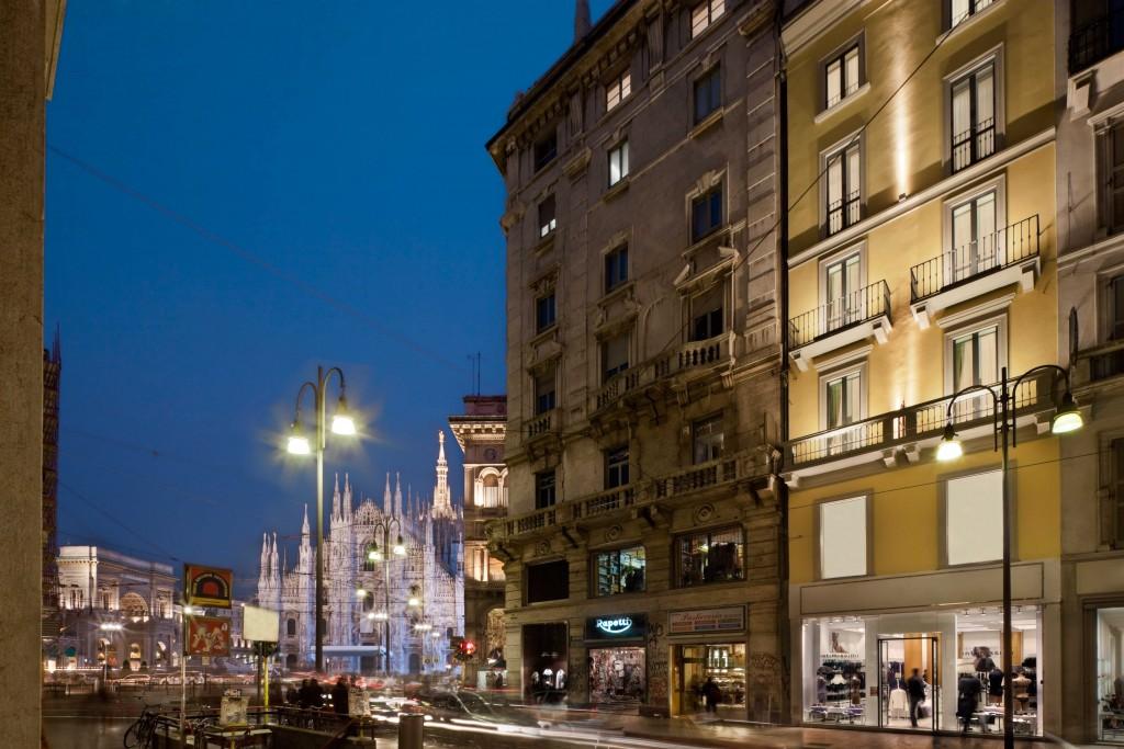 Maison Milano è un elegante hotel a due passi dal Duomo.