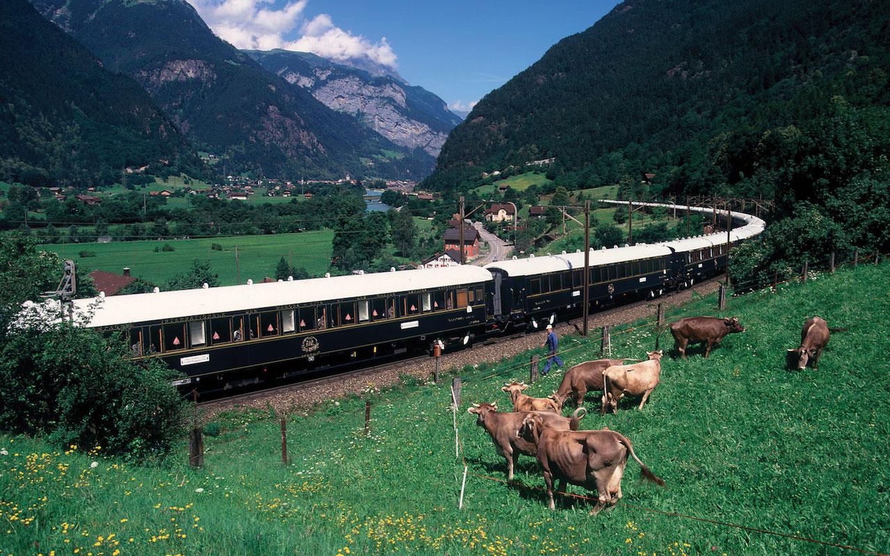 Il treno di lusso Venice-Simplon-Orient-Express