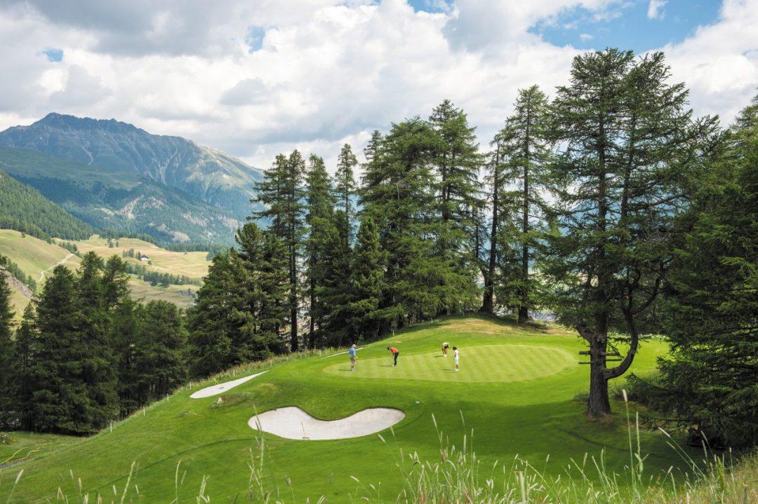 Engadina: golf e natura