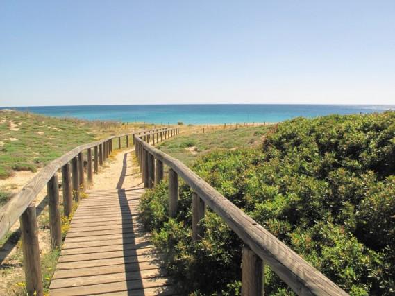 A metà strada tra Acquadolce Cirenaica e Campomarino di Maruggio si trova la spiaggia della Commenda, tra le più belle del litorale tarantino.