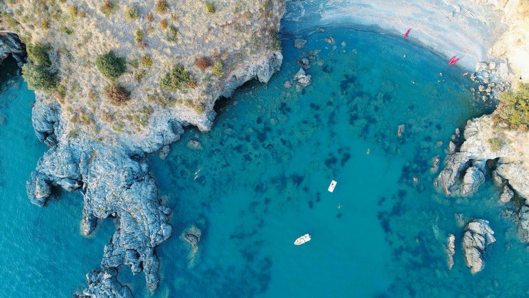 Riviera dei Cedri, spiagge e mare cristallo davanti a Scalea