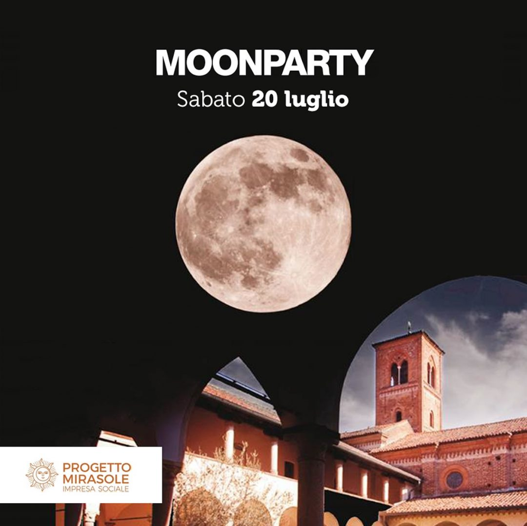 Moonparty - Abbazia di Mirasole (Opera, Milano)