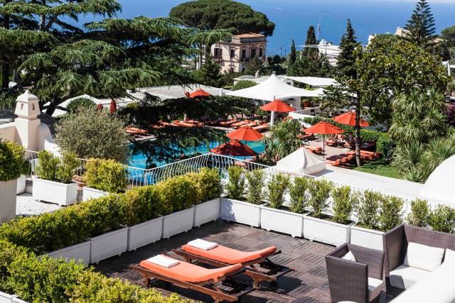 Il lusso di una pausa: weekend al Capri Palace