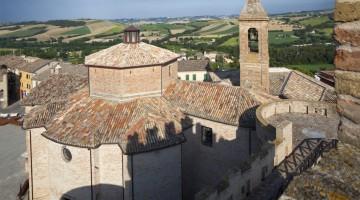 Urbisaglia: il nome della città deriva da quello dell'antica città romana di Urbs Salvia.