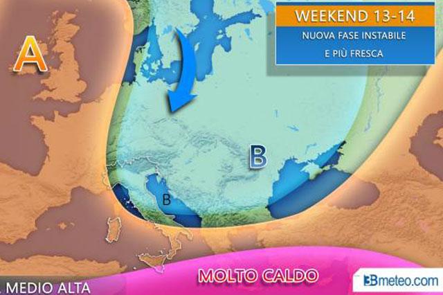 meteo-prossimo-weekend-a-rischio-temporali-vediamo-dove-3bmeteo-92648