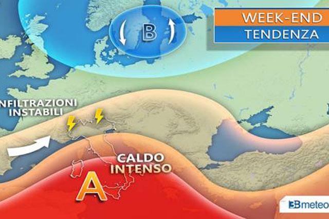 Previsioni meteo 5 luglio, torna il gran caldo: weekend di sole sull'Italia