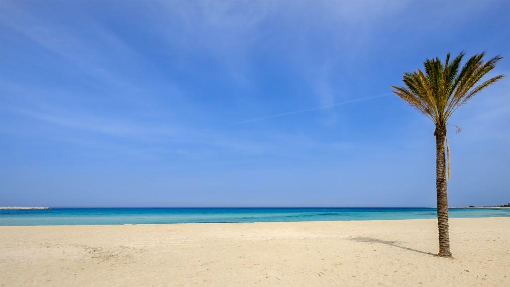 Beach of San Vito Lo Capo (Sicily, Italy)