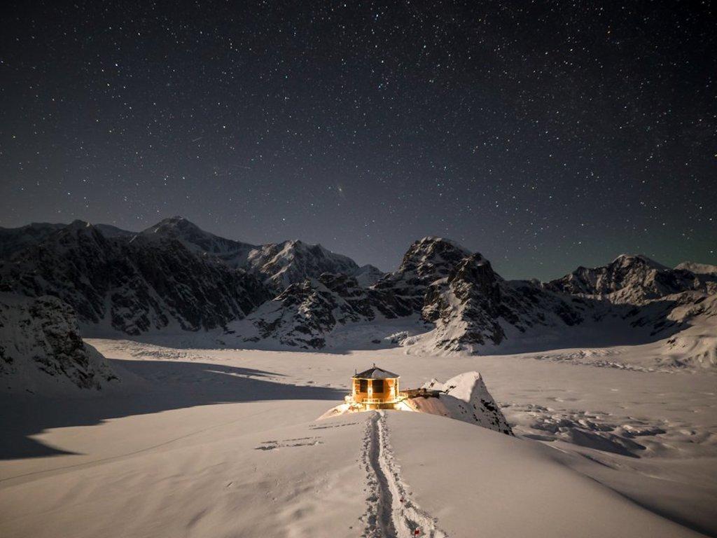 Lo chalet di lusso nel cuore dell'Alaska (con vista sulle aurore boreali)